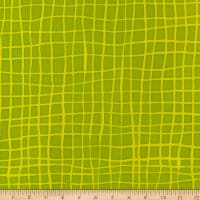 Kaufman Mark To Make Grid Chartreuse