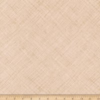 Kaufman Architextures Crosshatch Parchment