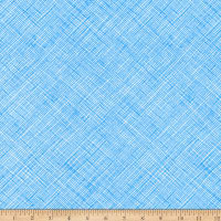 Kaufman Architextures Crosshatch Paris Blue