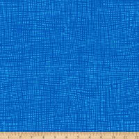 Kaufman Musings Crosshatch Royal Blue