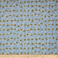 Kaufman Gleaned Hangings Blue