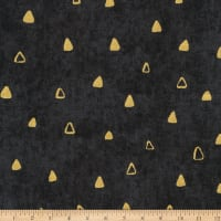 Kaufman Gustav Klimt Triangles Black