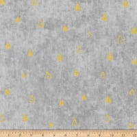 Kaufman Gustav Klimt Triangles Grey