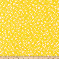 Kaufman Sunshine Garden Triangles Yellow