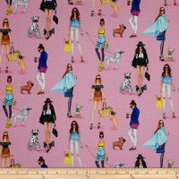 Kaufman C'Est Chic Girls,Dogs, Fashion Pink