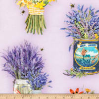 Kaufman Everyday Favorites Flowers Lavender