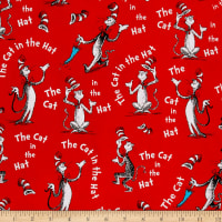 Kaufman The Cat In The Hat Words Red
