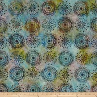 Kaufman Artisan Batiks Regal 3 Medallion Antique