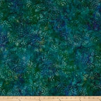 Kaufman Artisan Batiks Regal 3 Flowers Capri