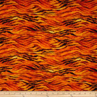 "24"" x 44"" Robert Kaufman Picture This Digital Tiger Skin Wild"