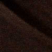 Solid Wool Melton Heather Brown