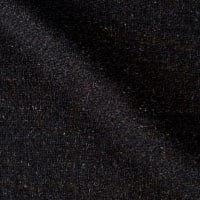 Solid Waffle Plush Wool Blend Coating Charcoal