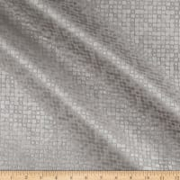 World Wide Baxter Textured Velvet Silver