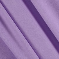Double Brushed Solid Jersey Knit Lilac