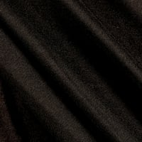 Fabric Merchants Double Brushed Solid Jersey Knit Black