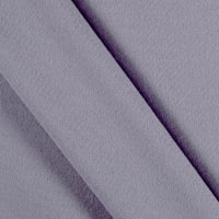 Double Brushed Solid Jersey Knit Lavender Dark
