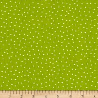 Loralie Designs Vintage Holiday Dinky Dots Lime