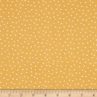 Loralie Designs Vintage Holiday Dinky Dots Yellow