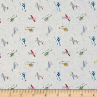 Lewis & Irene Small Things On The Move Planes White