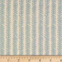 Schumacher Woodperry 100% Linen Aqua