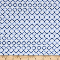QT Fabrics Sorbet Essentials Geo Royal