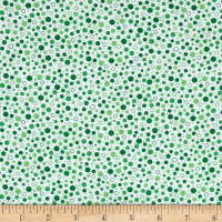 QT Fabrics Sorbet Essentials Dots Green