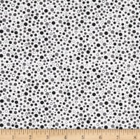 QT Fabrics Sorbet Essentials Dots Black