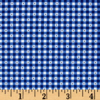 QT Fabrics Sorbet Essentials Gingham Navy