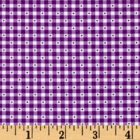 Sorbet Essentials Gingham Purple