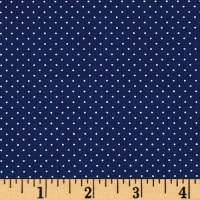 QT Fabrics Sorbet Essentials Mini Dot Navy