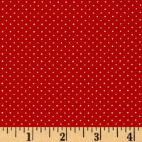 QT Fabrics Sorbet Essentials Mini Dot Red