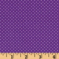 QT Fabrics Sorbet Essentials Mini Dot Purple