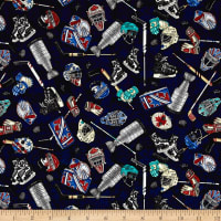 Face Off Everything Hockey Dark Navy