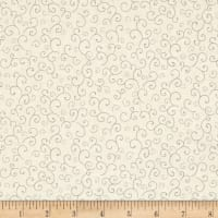 QT Fabrics Harrison Park Scroll Beige/Gray