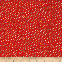 Harrison Park Dots Red
