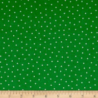 QT Fabrics Patchwork Farms Dots Green