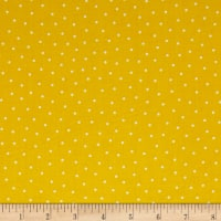 QT Fabrics Patchwork Farms Dots Sunflower