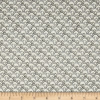 Winter Garden Scalloped Geo Light Gray