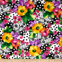 Quilting Treasures Brooke Large Floral Multi