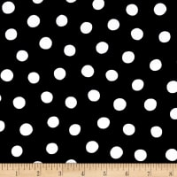 Quilting Treasures Brooke Dots Black/White