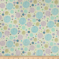 Ink & Arrow Hayden Dotted Circles Cream
