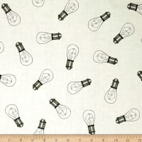 QT Fabrics Hatters Tea Party Tea Party Lights Ecru