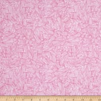 QT Fabrics Home Sweet Home Whipped Cream Pink