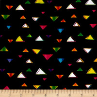 Party Animals Triangles Black