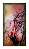 "24"" x 44"" Artworks VI Digitally Printed At Dawn Tree Panel 24"" Multi"
