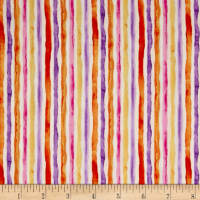 Quilting Treasures Soiree Watercolor Stripe Cream