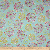 Quilting Treasures Confetti Blossoms Confetti Blossoms Packed Med. Seafoam