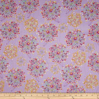 Quilting Treasures Confetti Blossoms Confetti Blossoms Packed Lilac