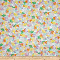 Quilting Treasures Confetti Blossoms Brushstrokes Multi