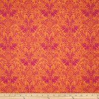 Ink & Arrow Ashtyn Lyla Damask Orange/Pink